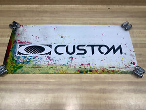 """Oakley Promotional Display Sign """"CUSTOM"""" Collector Piece"""
