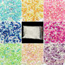 500Pcs No Hole Making Decor Simulation Round Pearl Spacer Loose Beads DIY Craft
