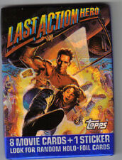 LAST ACTION HERO  pack of trading  cards