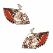 New Pair of Corner Lights Left & Right Fits 2000-2001 Toyota Camry