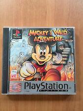 Mickey 's Wild Adventure Platinium (ps1) ps2 PS 3 en Box, con instrucciones