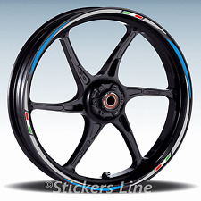 Adesivi ruote moto strisce cerchi per moto BUELL  Mod. Racing 3 stickers wheel