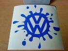 fun paint splat golf polo bora beetle car vinyl sticker decals rear window side