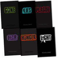 Michael Grant Gone 6 Books Collection Pack Set RRP: £52.94 Light Fear Lies New