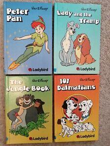 Walt Disney hardback Ladybird bundle of Books x 4 First editions