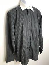 Donald J. Trump Signature Collection Dress Shirt Men's Non Iron Gray 15.5 34/35