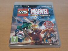 Sony PS3 Lego Marvel Super Heroes Game - Very Good Condition