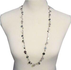 Lia Sophia Jewelry Reflection Necklace in Silver RV$74