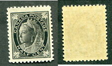 MNH Canada 1/2 Cent Queen Victoria Leaf Stamp #66 (Lot #8230)