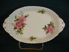 "Royal Albert Prairie Rose 8 5/8"" Handled Tray"