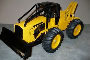 1/16 JOHN DEERE JD740 Log Skidder Toy Tractor Ertl