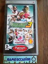 SMASH COURT TENNIS 3 III VERSION PLATINIUM SONY PLAYSTATION PSP PAL COMPLET