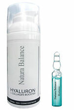 SET Hyaluron Collagen BOOSTER Gel 50ml + 15 Hyaluron Ampullen 2ml Hyaluronsäure