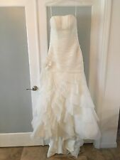 Allure Bridal Wedding Gown 8705 Size 12 Ivory