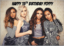 Little Mix Birthday Card A5 Personalised with own words A5