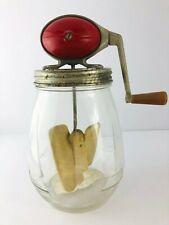 Antique Dazey Churn Hand Crank 4 Quart No.4 Butter Churn Wooden Handle Primitive
