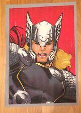 Marvel Comics Super Hero  Avengers Thor Material /Fabric Remnant.