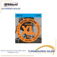 D'Addario EXL110 Light Electric Guitar Strings Single Set 10-46