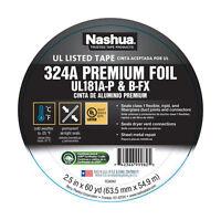 Nashua  Foil Tape  2.5 in. W x 60 yd. L Silver
