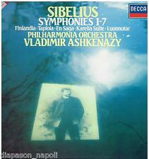 Sibelius: Sinfonie 1-7 / Ashkenazy, Philharmonia Orchestra - LP