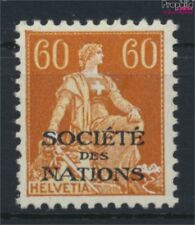 Suisse SDN10x neuf avec gomme originale 1922 nations (9046121
