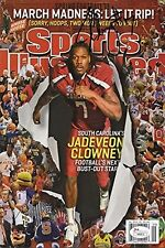 Jadeveon Clowney Sports Illustrated Autograph Poster - South Carolina Gamecocks