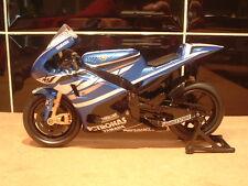 1:12 2011 FACTORY YAMAHA YZR-M1 pressofusione giocattolo modello Jorge lornzo # 1 CAMPIONE del MONDO