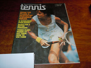 "VINTAGE "" TENNIS "" MAGAZINE - JULY 1978"