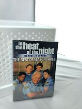 In the Heat of the Night: The Best of Season 3 DVD  Very  Rare New Sealed.