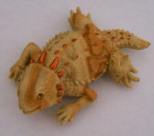 Jewled Crystal Eyes Horny Toad, Lizard, Horned Toad 3D Fridge Magnet Made Usa