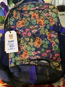 Jansport Wildflower Backpack NWT