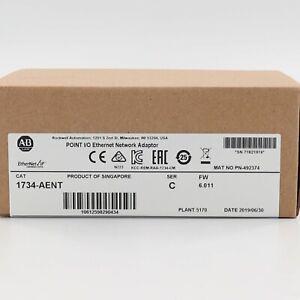 Allen-Bradley 1734-AENT Ser C Point I/O Ethernet Network Adaptor