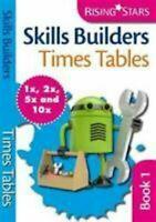 Habilidades Builders Tablas de Multiplicar 1x 2x 5x 10x Libro en Rústica