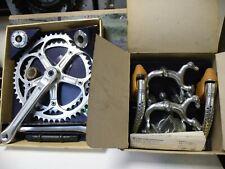 Shimano 600EX arabesque brake set with crankset , NOS