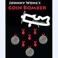Coin Bomber (Morgan Coin) by Johnny Wong Coin Magic Tricks Close up Magic Fun