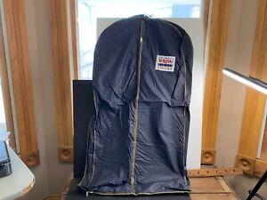 """Vintage Exxon Travel Club Blue Garment Bag, Suit, Travel, 40x20"""""""