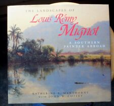 Landscapes of Louis Remy Mignot, A Southern Painter Abroad Pre owned HC w DJ VGC
