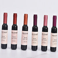 Creative Red Wine Bottle Waterproof Long Lasting Stained Gloss Lip O7Y6 D2V5