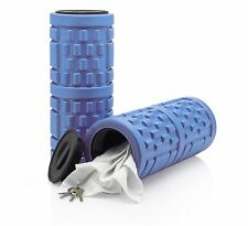 Medium Density Blue Foam Roller - For Yoga/Exercise/Massage/Therapy