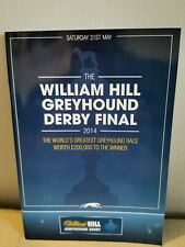 2014 Greyhound Derby Final Programme Mint Condition
