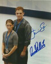 JAMIE SALE & DAVID PELLETIER SIGNED 2002 OLYMPICS FIGURE SKATING 8x10 PHOTO!