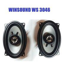 WINSOUND Ws 3046 Arcas Óvalos Porsche 944 Speakers Audio Altavoces Coche