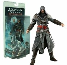 ASSASSIN'S CREED REVELATIONS EZIO AUDITORE MENTOR ACTION FIGURES STATUE PVC TOY