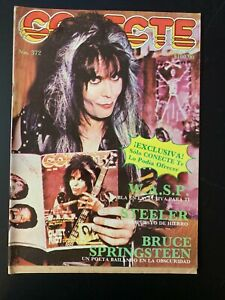 Conecte, Mexican Magazine 372 Inc W.A.S.P. / Chac Mool / Steve Perry / Syntoma