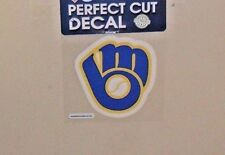 MILWAUKEE BREWERS 4 X 4 DIE-CUT DECAL OFFICIALLY LICENSED PRODUCT