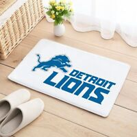 Detroit Lions Carpet Mat Natural Cotton Floor Door Home House Sports Team rug