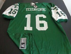 VINNY TESTAVERDE New York JETS Vintage STARTER Replica Youth XL Jersey NFL New