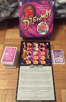 Double Dilemma Board Game Family Friends Dastardly Decisions Party Game Complete