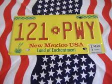 US NEW MEXICO 121 PWY Auto Car Plate KENNZEICHEN NUMMERNSCHILD Schild Deko USA