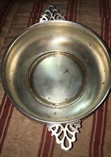 Vintage Sheffield Silver Plated Porringer Pan Server. Made In The USA